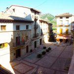 Vistas a la plaza desde el balcon