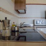 Detalle Cocina 1ª planta Casa El Centro - Beceite