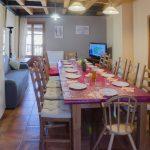 Salon-Cocina-Comedor 2ª planta Casa El Centro - Beceite